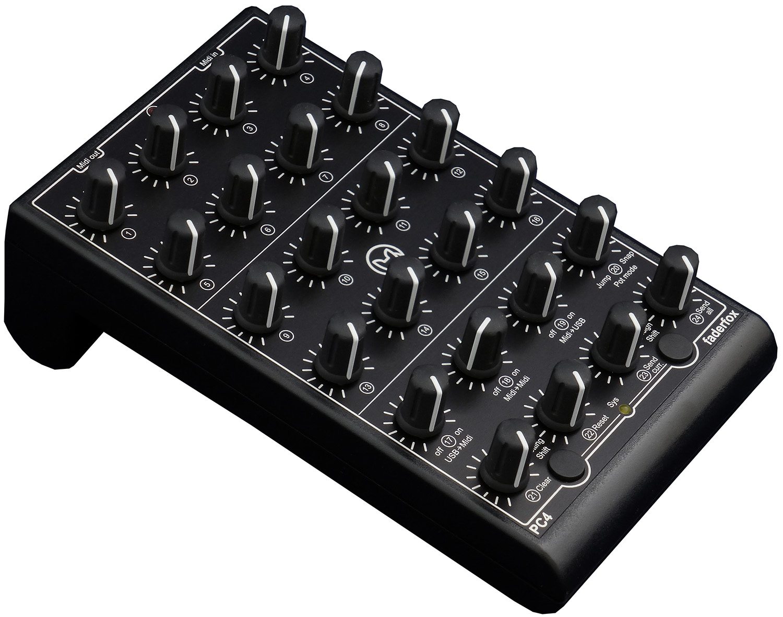 faderfox pc4 rotary universal midi controller. Black Bedroom Furniture Sets. Home Design Ideas