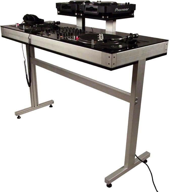 Dex DEX 2T CDJ DJ Turntable Stand