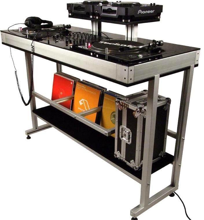 Dex DEX 2TS CDJ DJ Turntable Stand