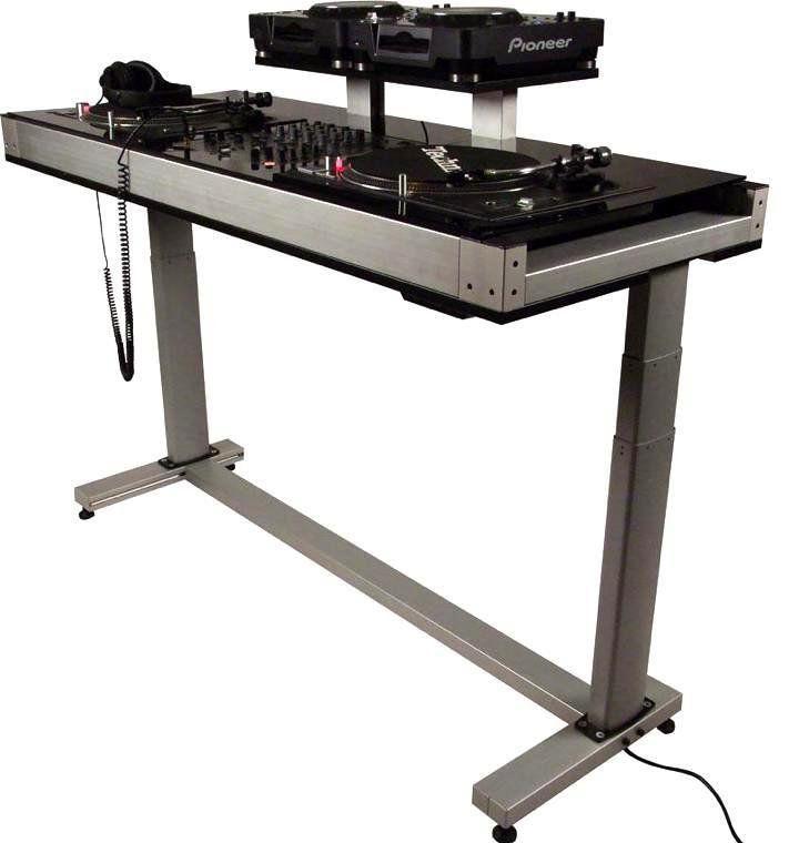 Dex ESCL8 2T CDJ DJ Turntable Stand