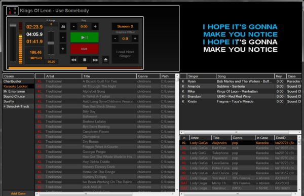 PCDJ Karaoki Karaoke Show Hosting Software (Download)