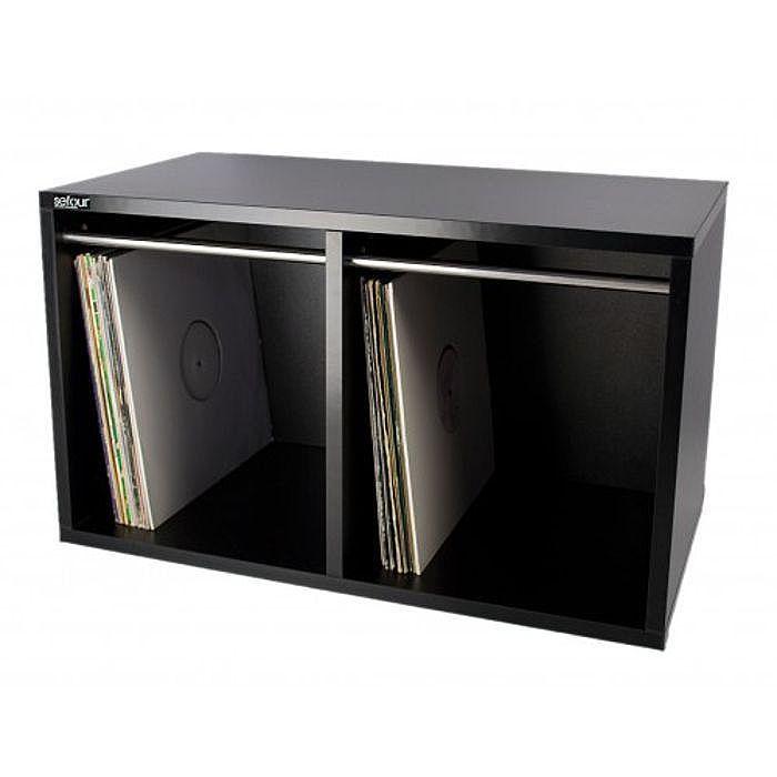 Sefour Vinyl Record Carry Box ...  sc 1 st  DJDeals.com & Sefour Vinyl Record Carry Box Holds 250 Records (Large) - DJDeals.com