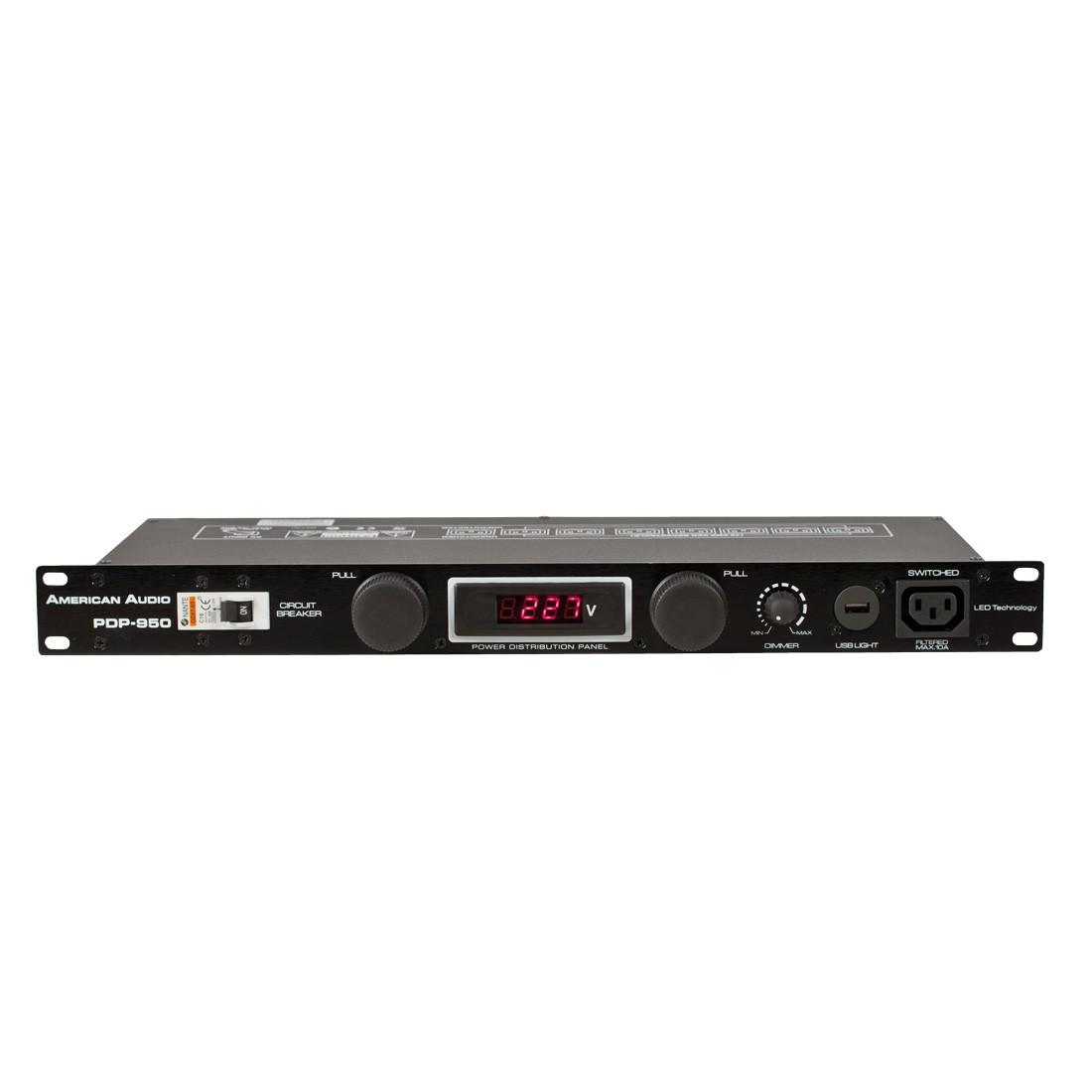 American Audio PDP-950 Power Distribution Panel - DJDeals.com