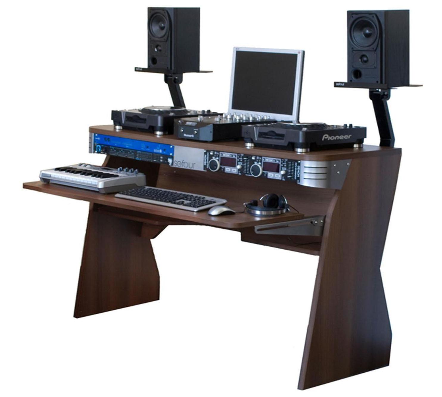 sefour x60 recording studio dj console free shipping. Black Bedroom Furniture Sets. Home Design Ideas