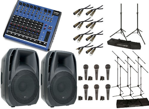 Recording & Live Music Equipment Packages