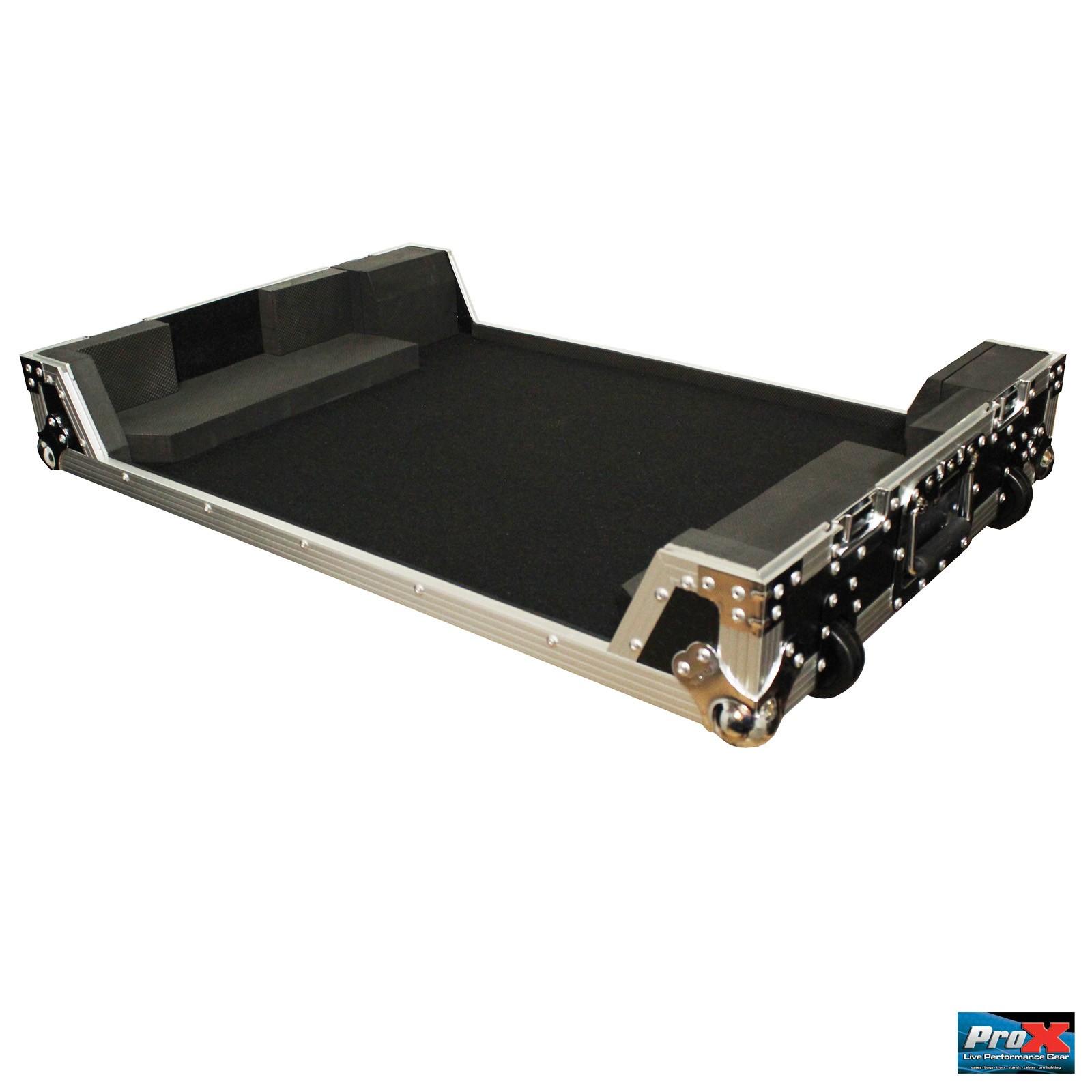 ProX XS-NS7IIIW Digital Controller Road Case for Numark NS7iii or NS7ii
