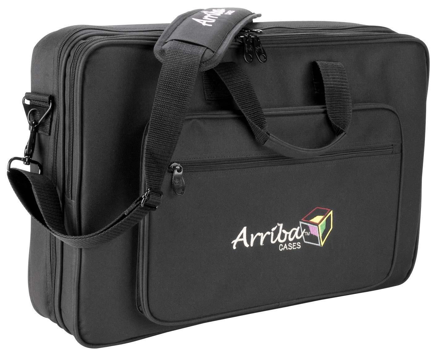 arriba cases as 190 universal dj controller laptop bag free shipping. Black Bedroom Furniture Sets. Home Design Ideas