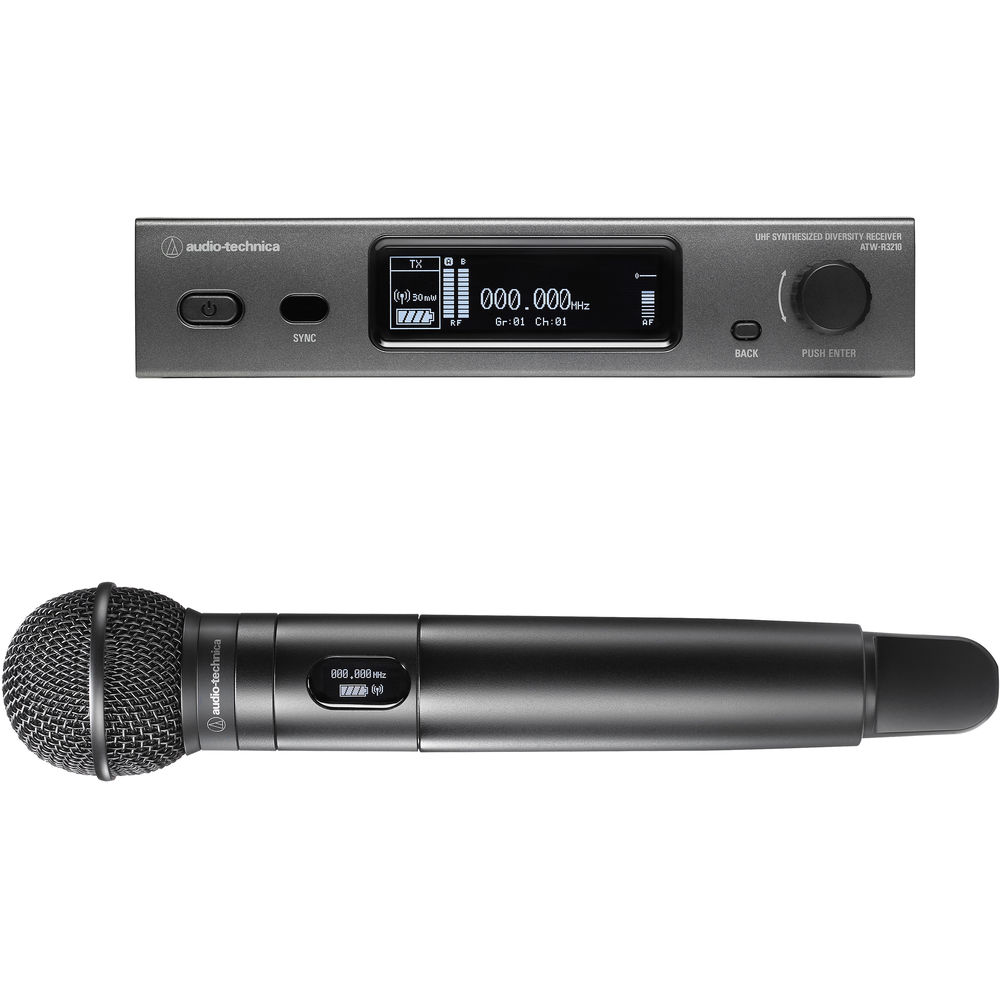 audio technica atw 3212 c510ee1 wireless handheld microphone free shipping. Black Bedroom Furniture Sets. Home Design Ideas