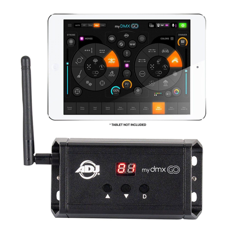 American Dj Mydmx Go Dmx Ipad Android Lighting Control System