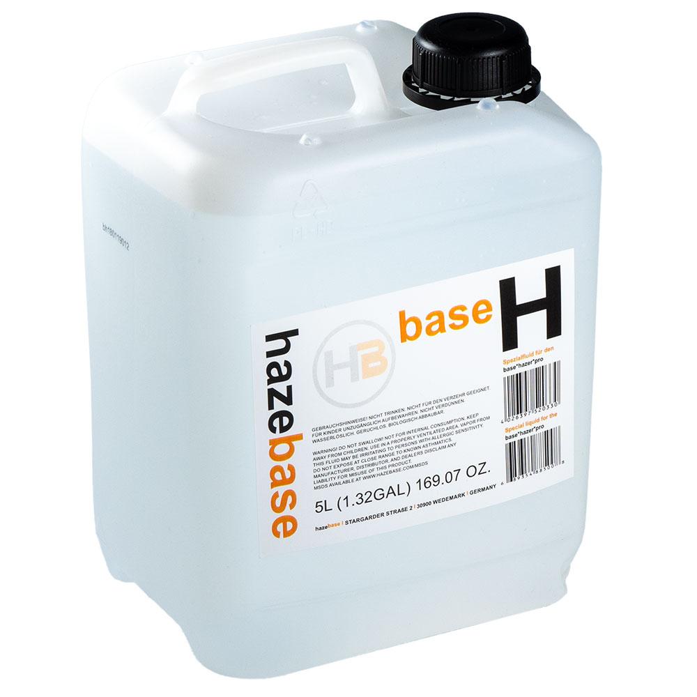 Hazebase Base H Fog Fluid 4x 5 Liter Bottles Free Shipping