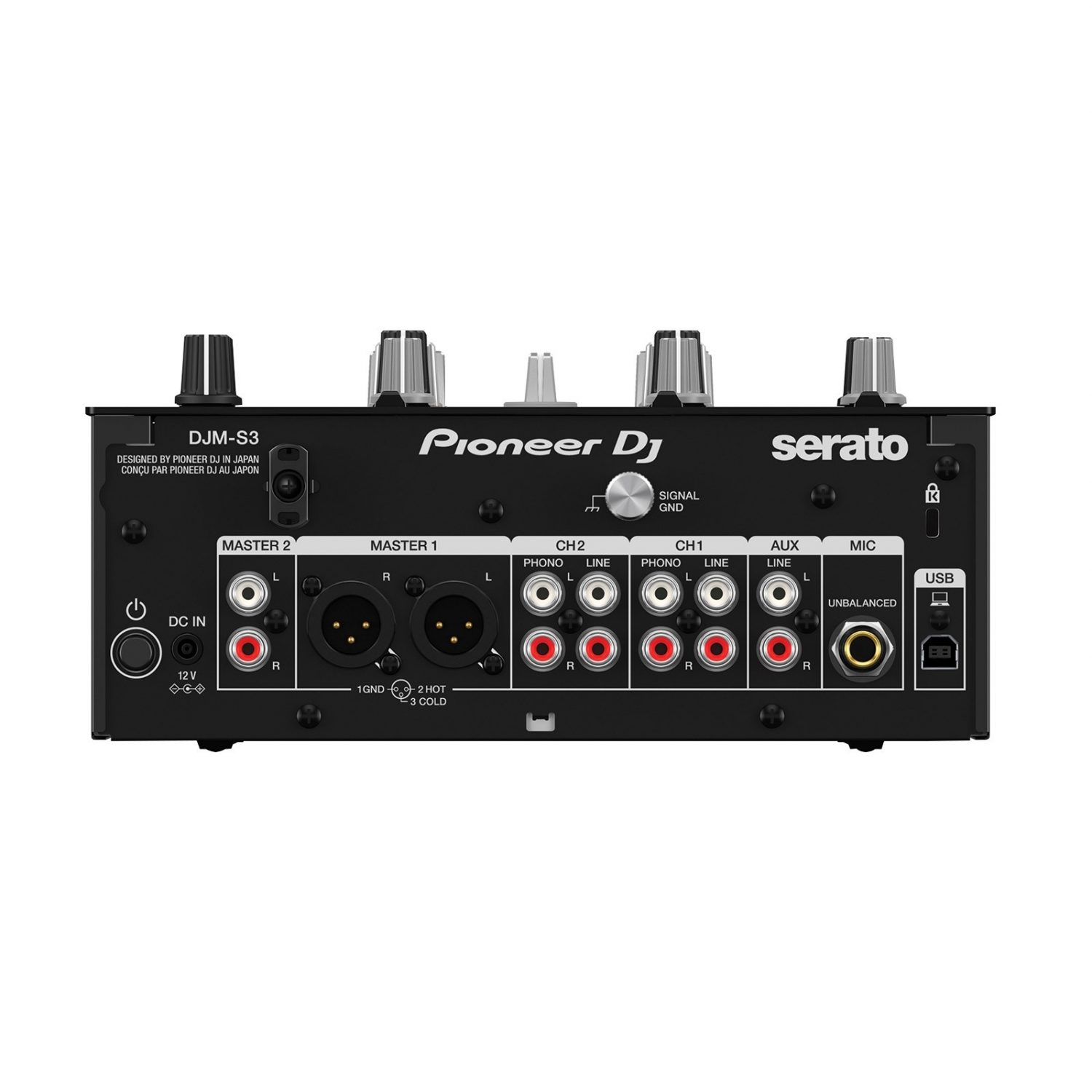 Pioneer DJM-S3 2 Channel DJ Mixer for Serato - Free Shipping!